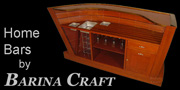 Barina Craft artisan home bar furniture.