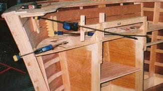 Kitchen Base Cabinet Framing